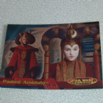 Star Wars Evolution topps 2001 Padme Amidala Foil Card
